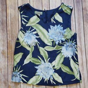 Tommy Bahama Floral Sleeveless Blouse